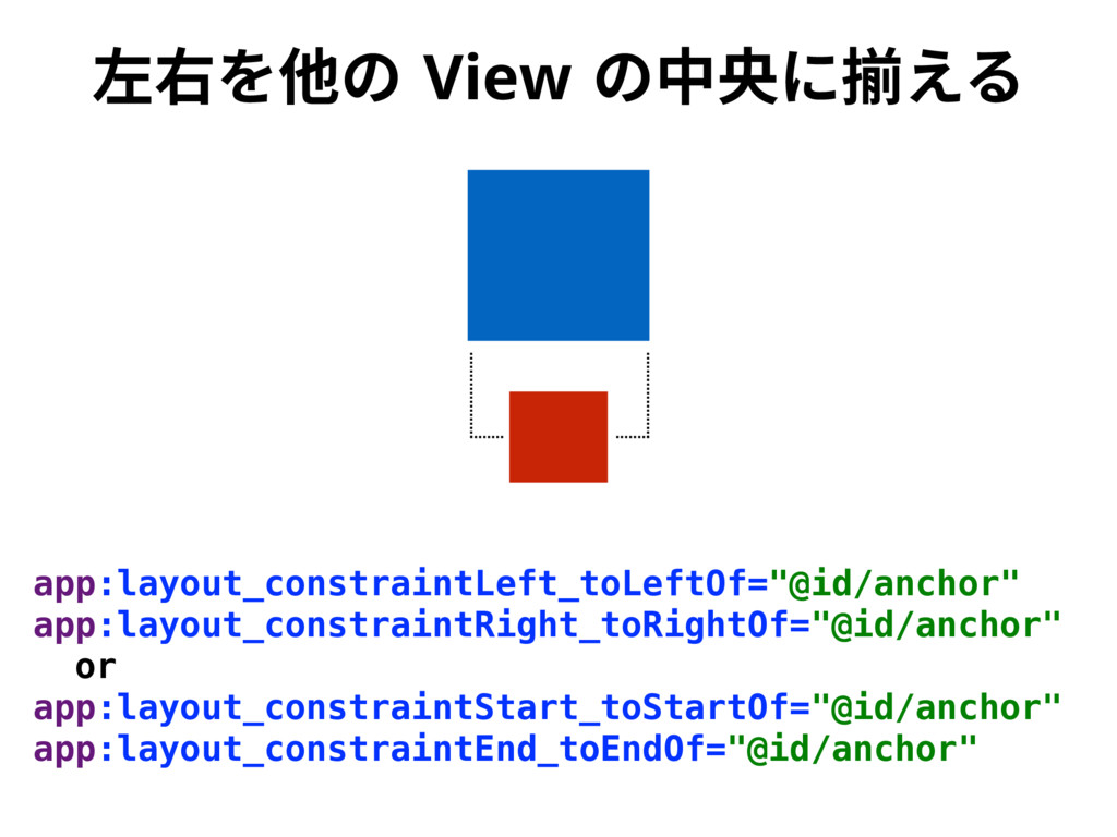 䊩〸׾➭ך 7JFX ך⚥㣛ח䲧ִ׷ app:layout_constraintLeft_to...