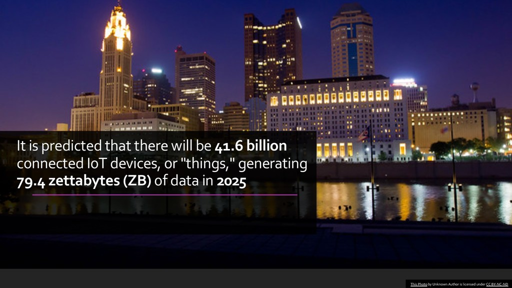 It is predicted that there will be 41.6 billion...