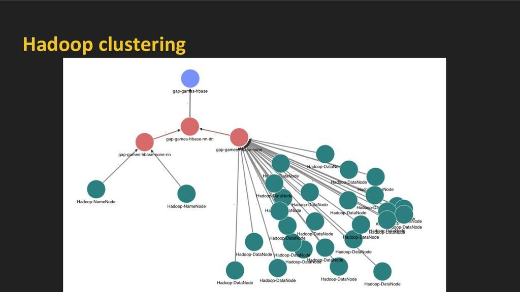 Hadoop clustering