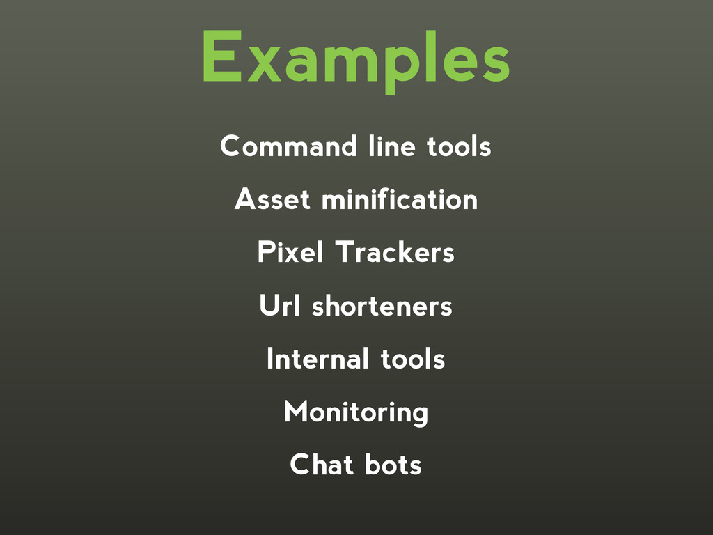 Command line tools Asset minification Pixel Tra...