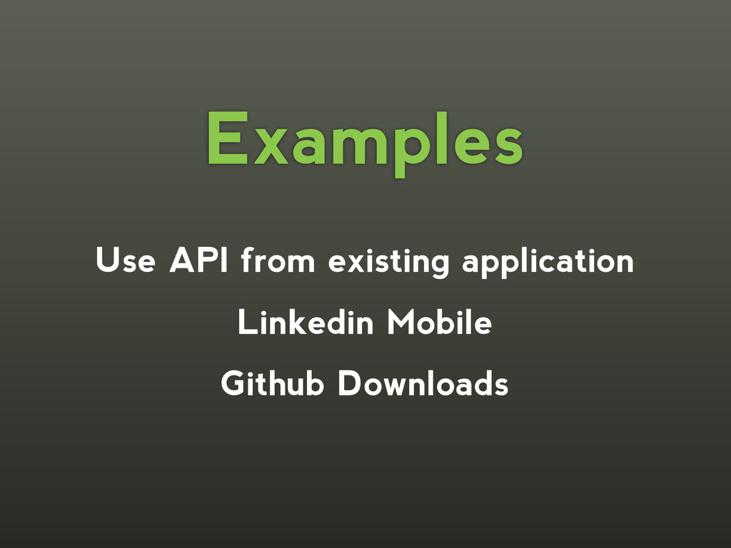 Use API from existing application Linkedin Mobi...
