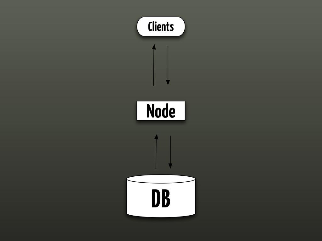DB Node Clients