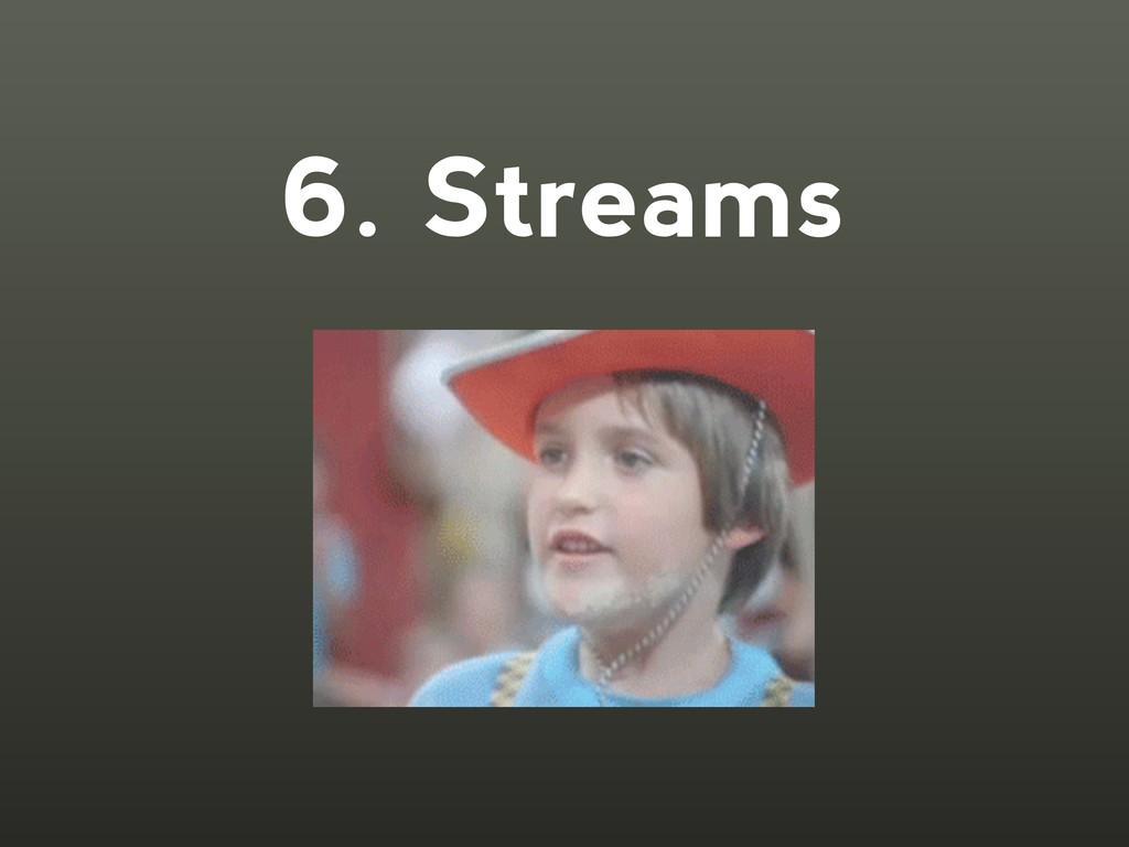 6. Streams