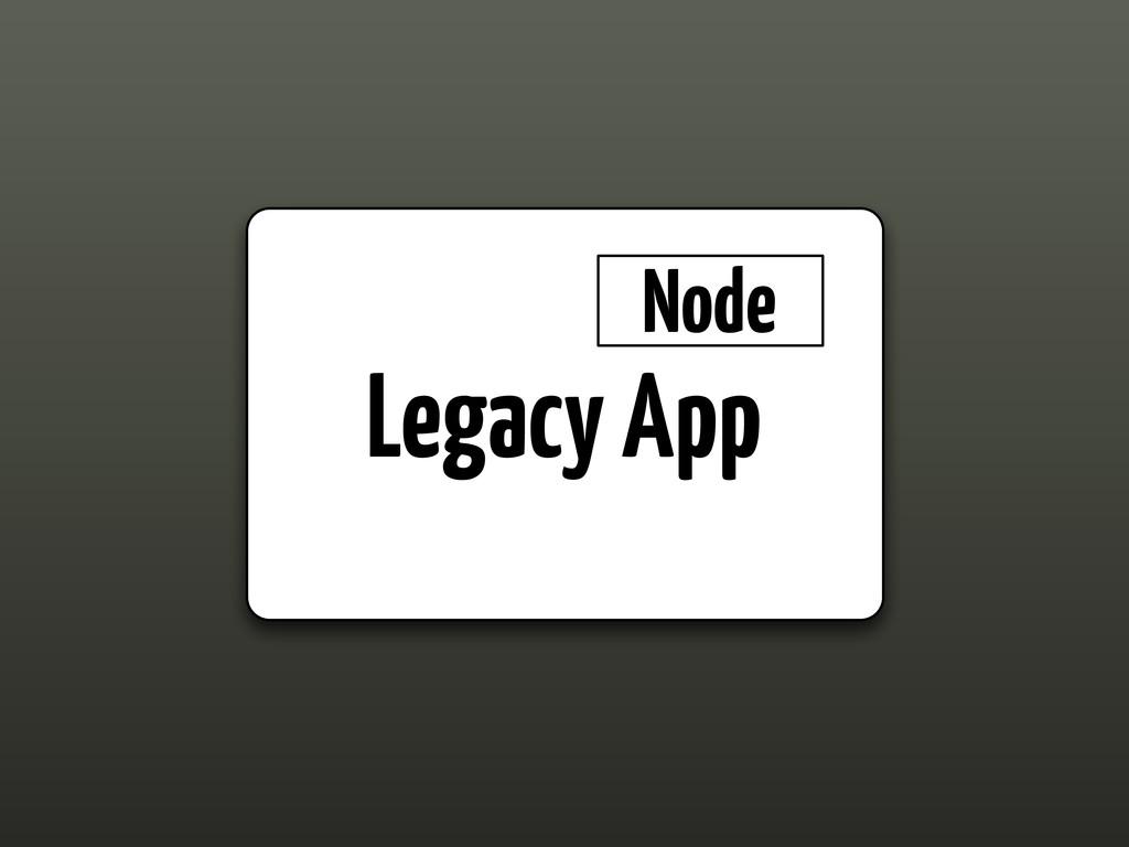 Legacy App Node