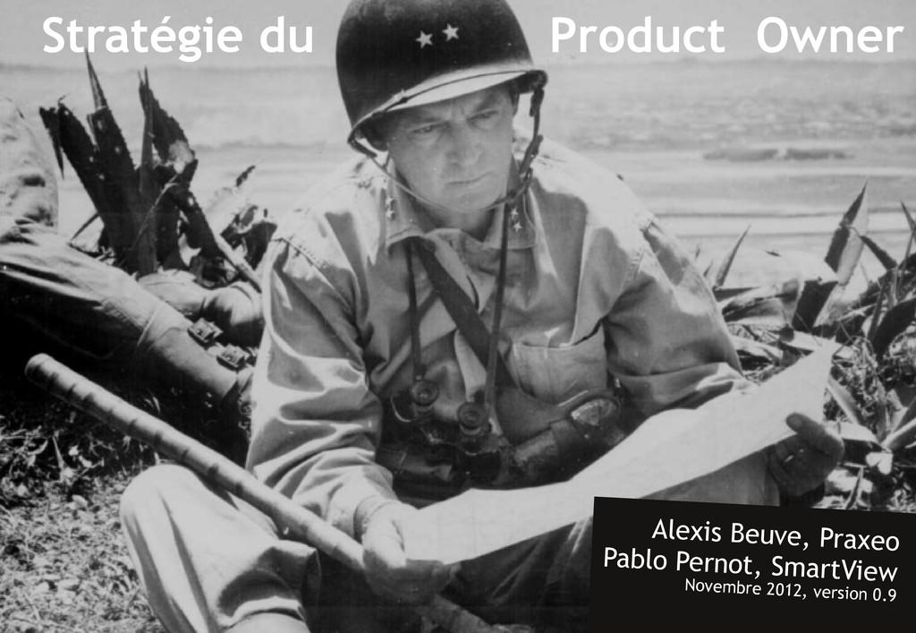 Stratégie du Product Owner Alexis Beuve, Praxeo...