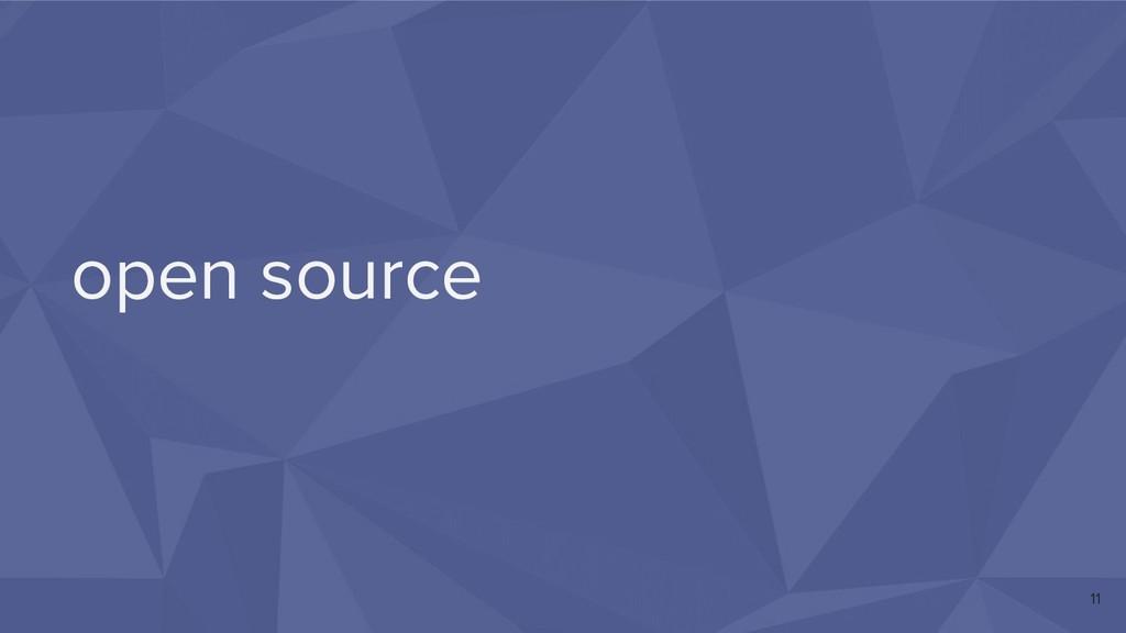 open source 11