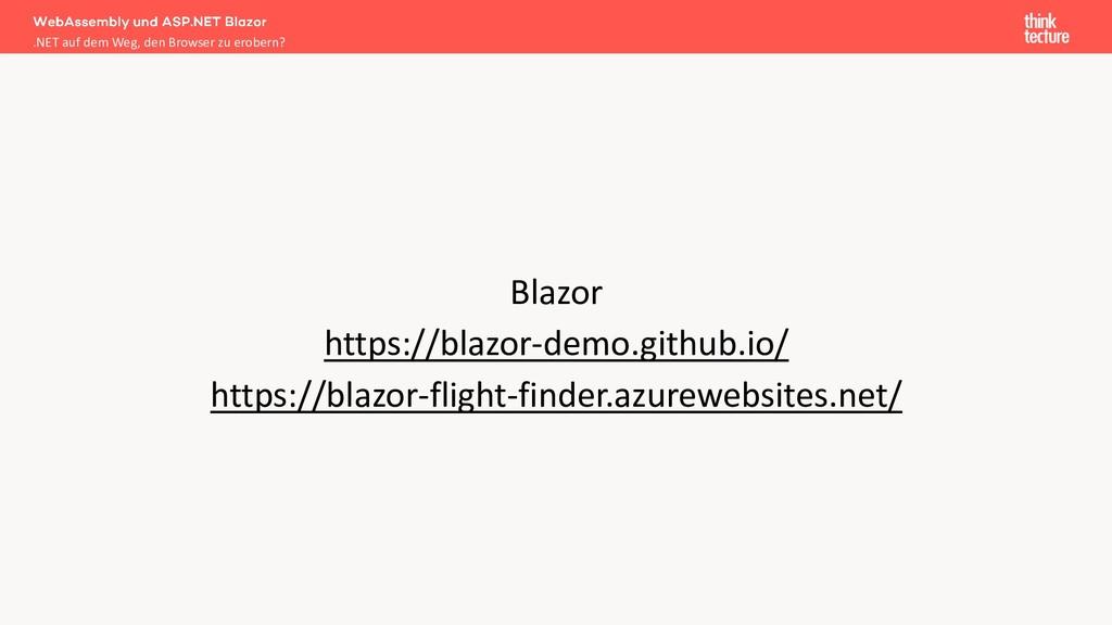 Blazor https://blazor-demo.github.io/ https://b...