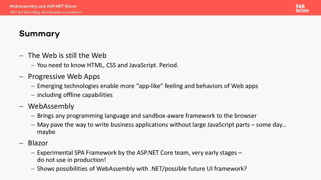 − The Web is still the Web − You need to know H...
