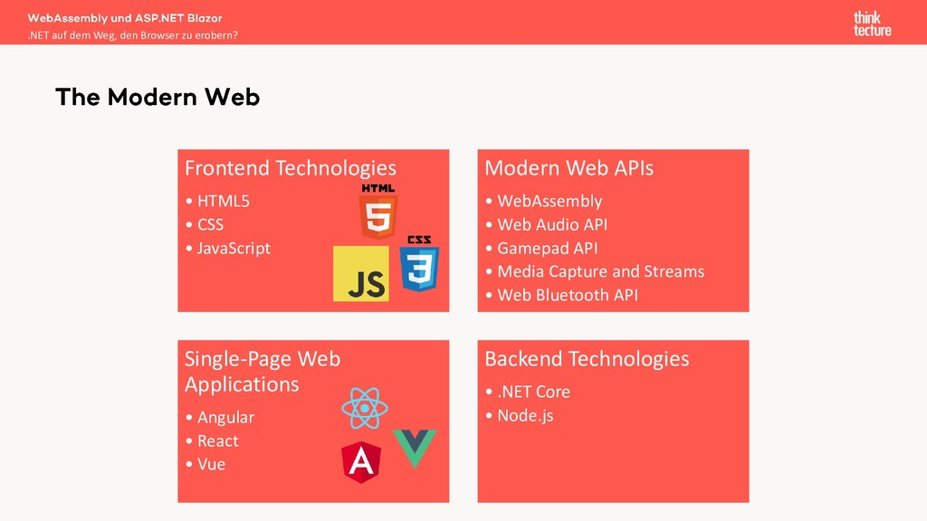Frontend Technologies • HTML5 • CSS • JavaScrip...