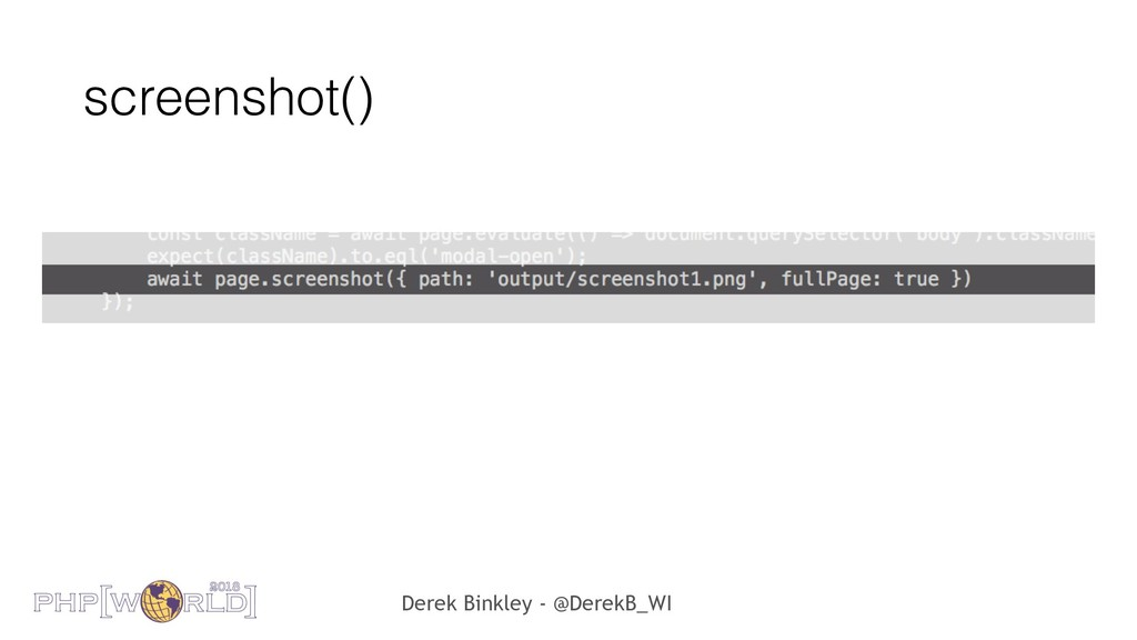 Derek Binkley - @DerekB_WI screenshot()