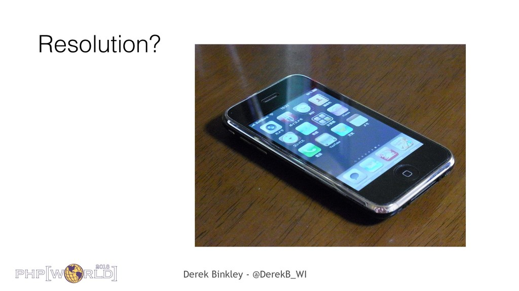 Derek Binkley - @DerekB_WI Resolution?