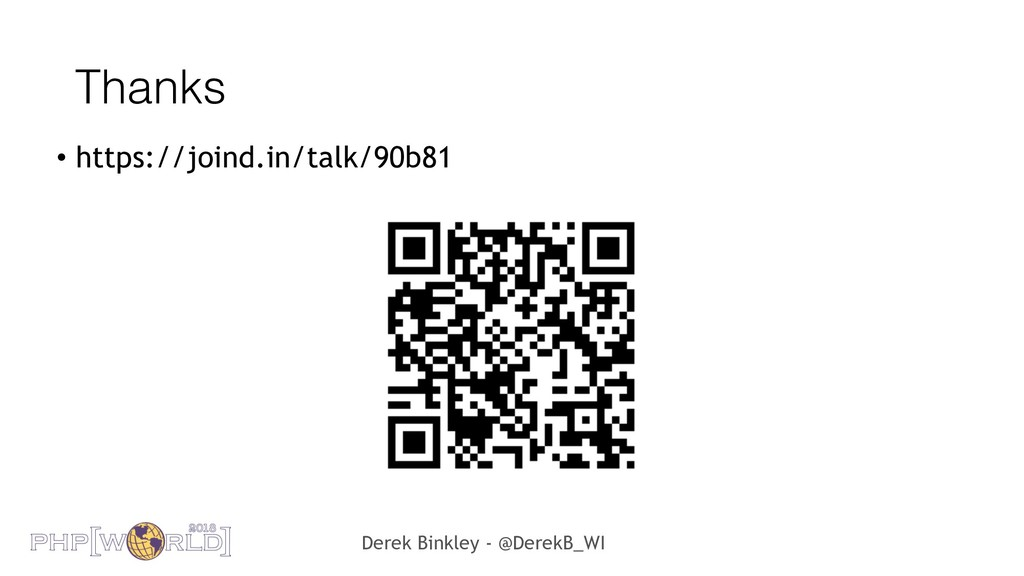 Derek Binkley - @DerekB_WI Thanks • https://joi...