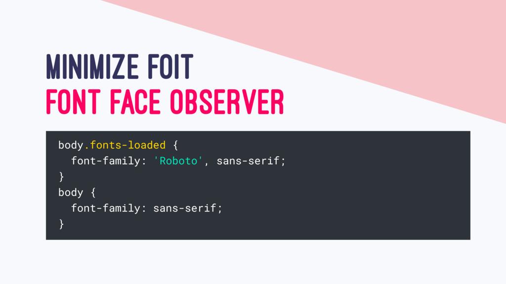 MINIMIZE FOIT FONT FACE OBSERVER body.fonts-loa...