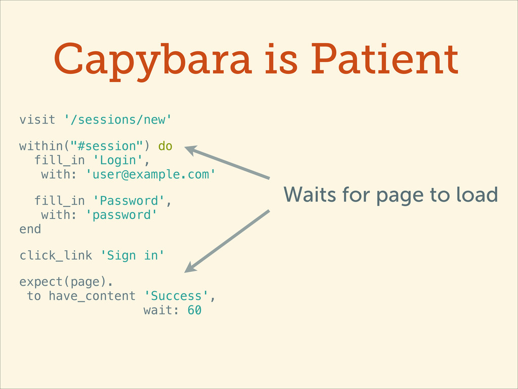 Capybara is Patient visit '/sessions/new' withi...