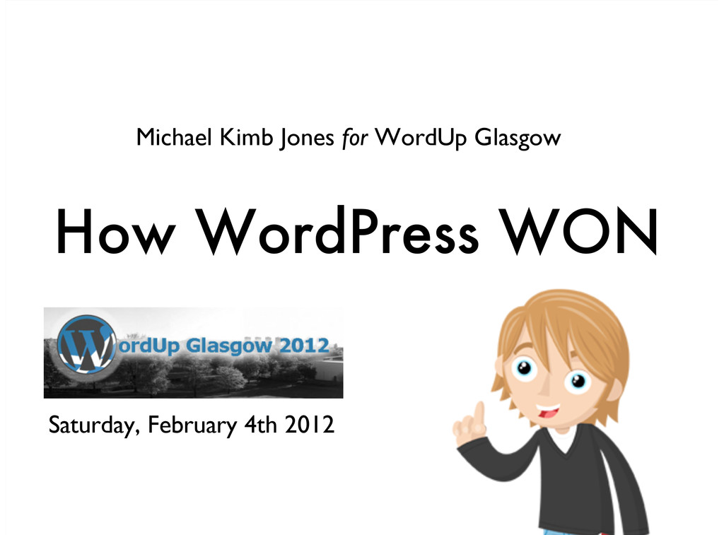 Michael Kimb Jones for WordUp Glasgow Saturday,...