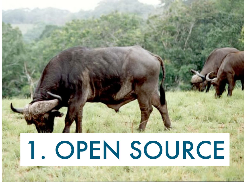 1. OPEN SOURCE