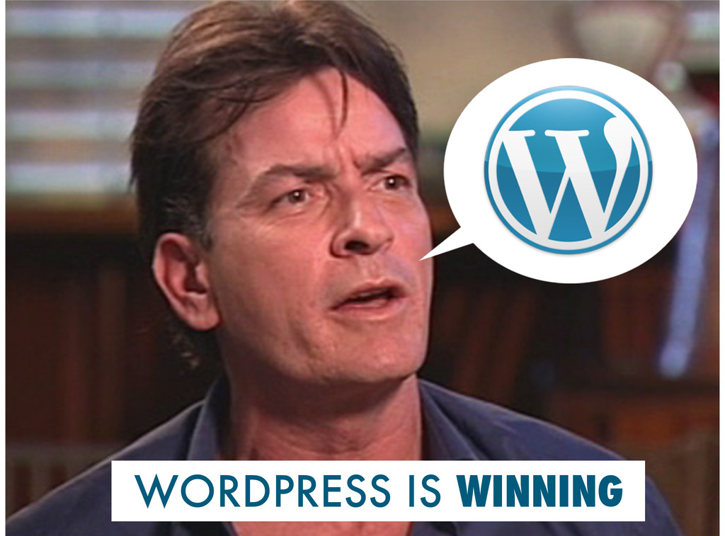 WORDPRESS IS WINNING