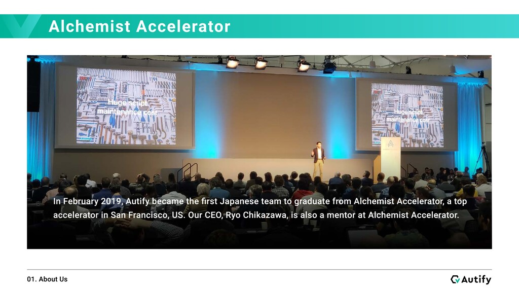 Alchemist Accelerator 01. About Us In February ...