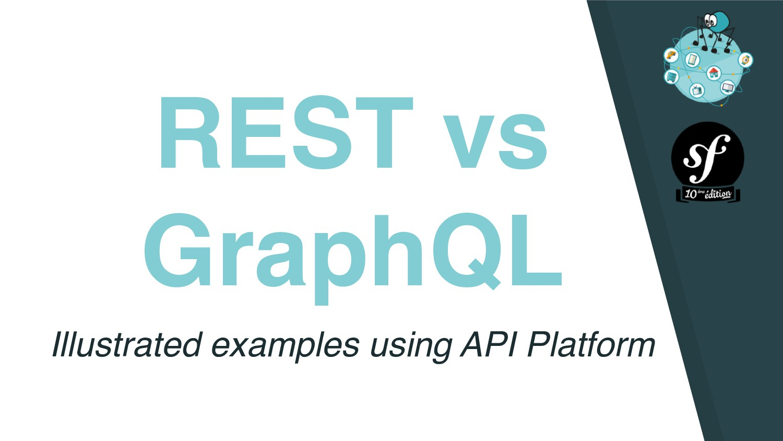 REST vs GraphQL Illustrated examples using API ...