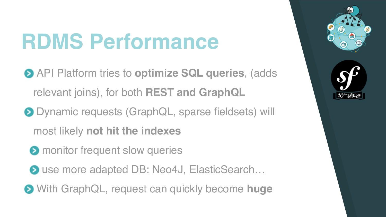 API Platform tries to optimize SQL queries, (ad...