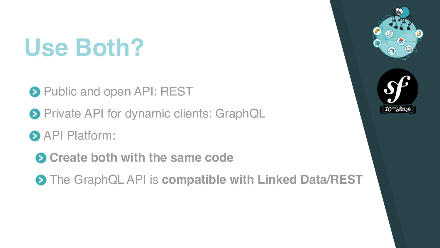 Public and open API: REST Private API for dynam...