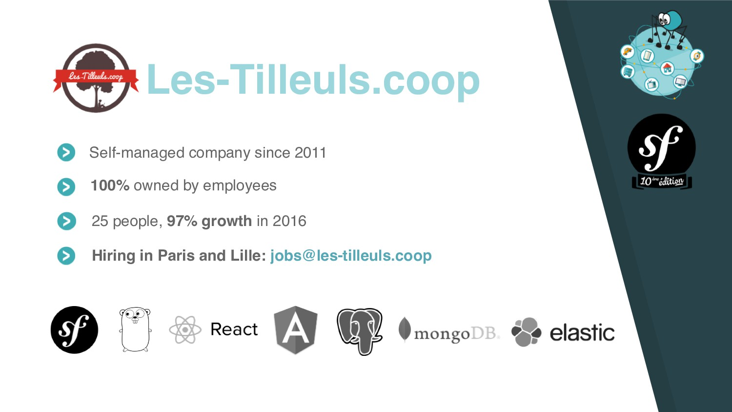 Les-Tilleuls.coop Self-managed company since 20...