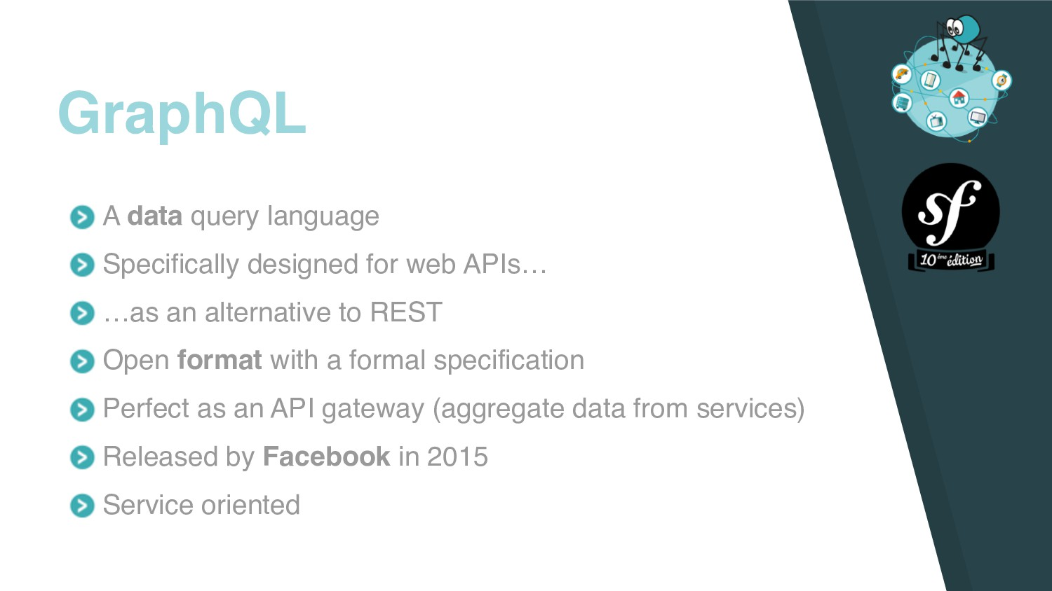 A data query language Specifically designed for...