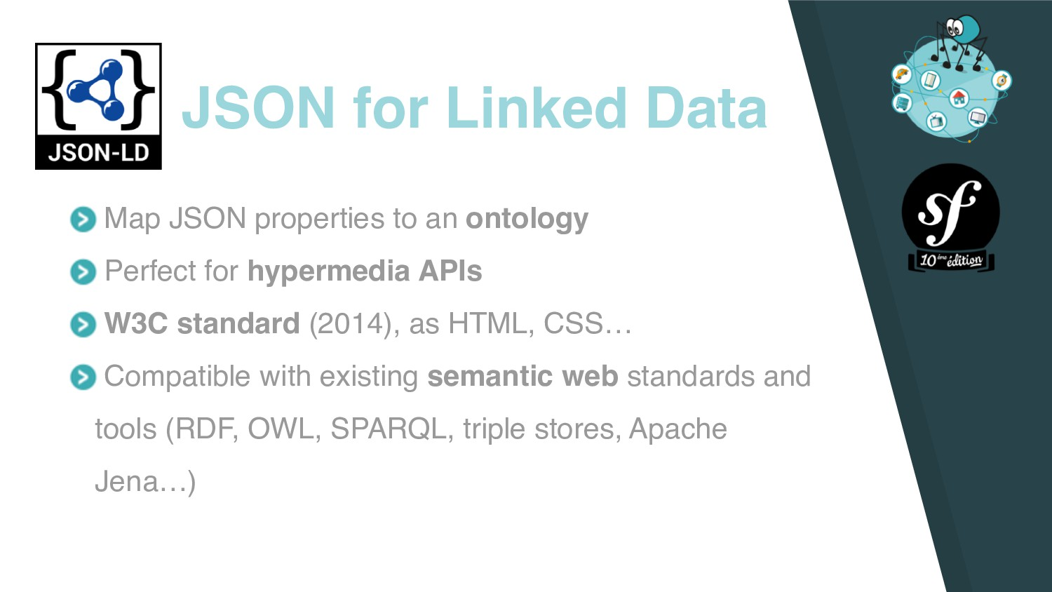 Map JSON properties to an ontology Perfect for ...