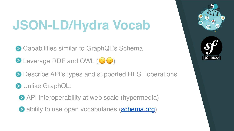 Capabilities similar to GraphQL's Schema Levera...