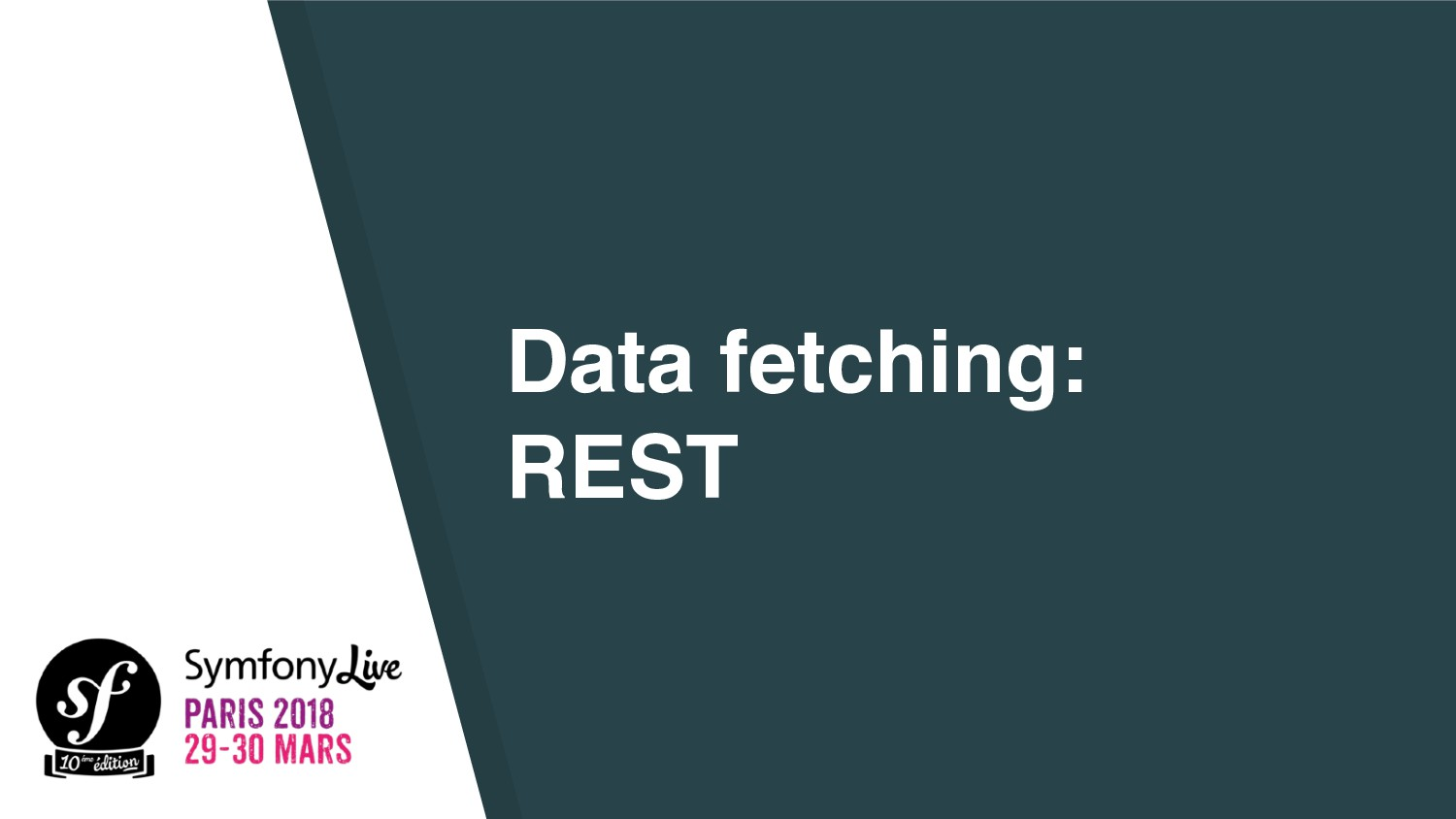 Data fetching: REST