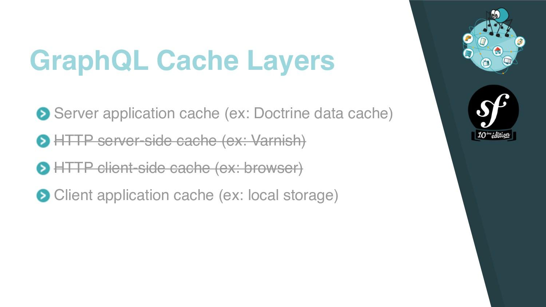 Server application cache (ex: Doctrine data cac...
