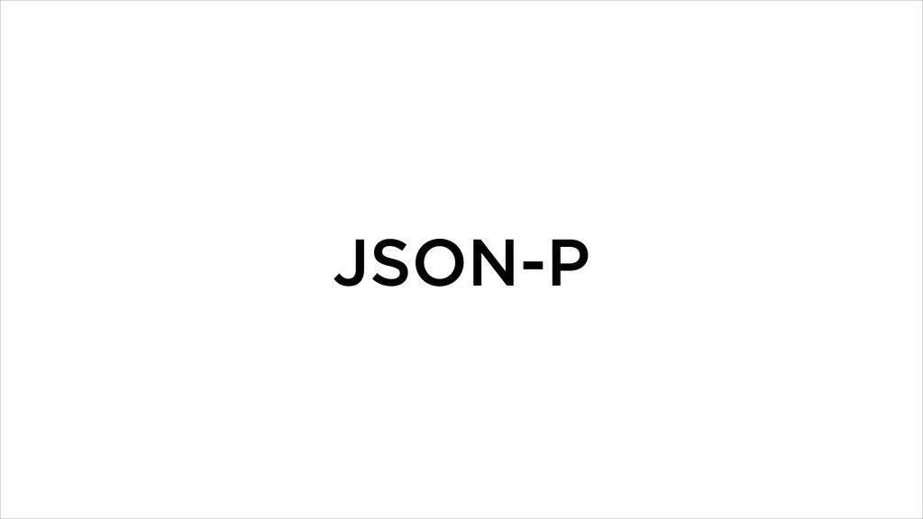 JSON-P