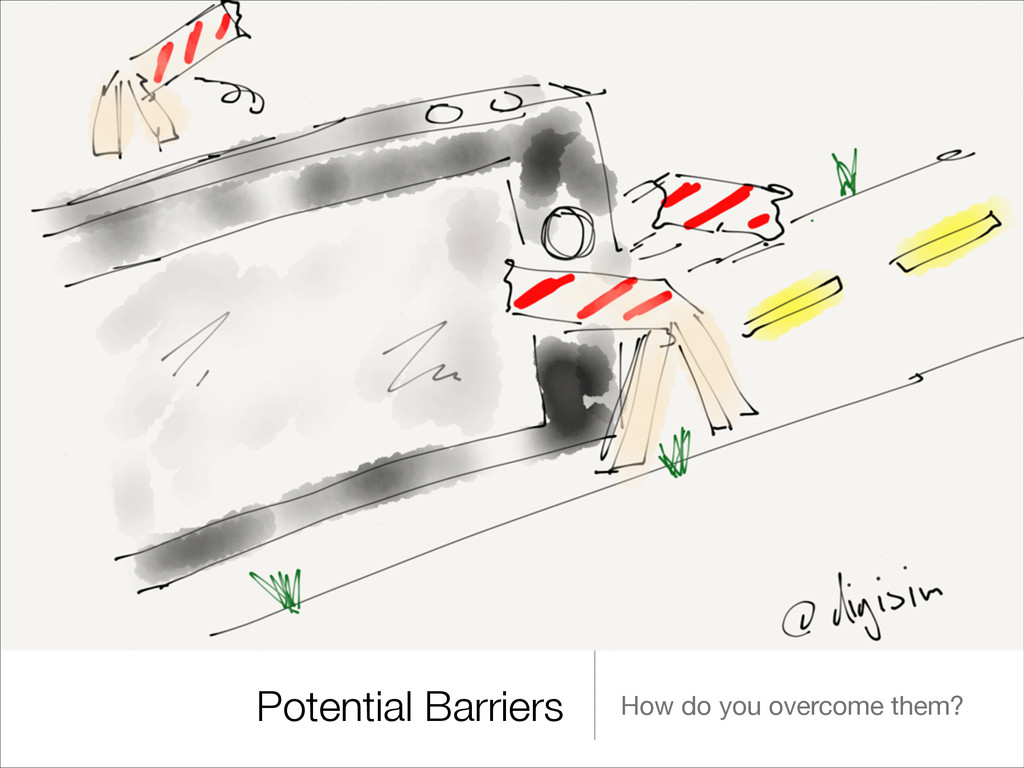 Potential Barriers How do you overcome them?