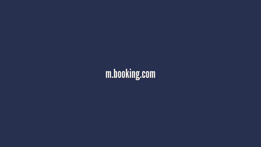 m.booking.com