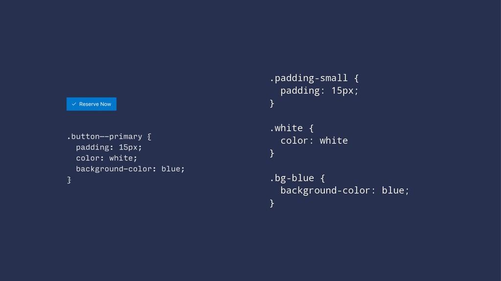 .padding-small { padding: 15px; } .white { colo...