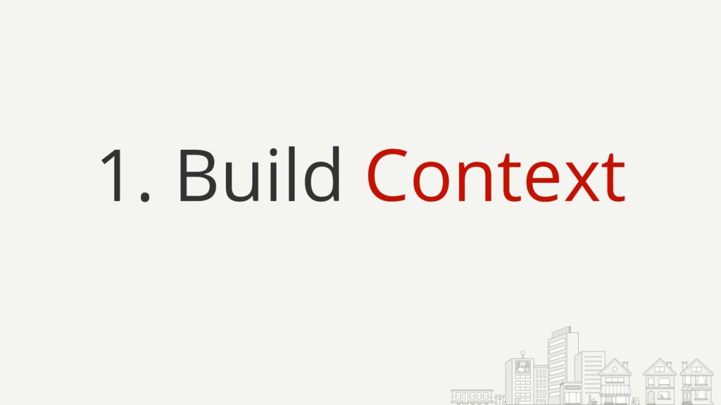 1. Build Context