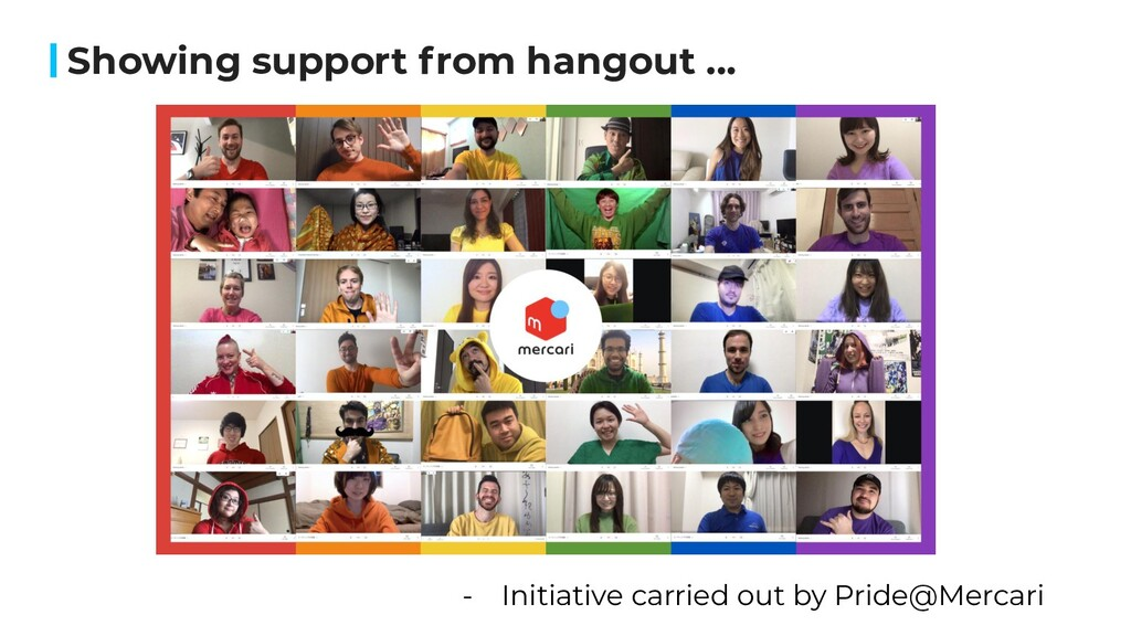 Showing support from hangout ... - Initiative c...