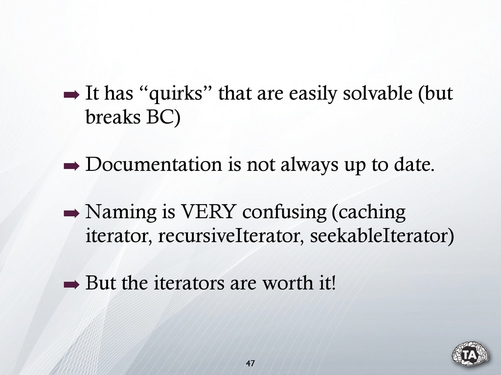 """➡ It has """"quirks"""" that are easily solvable (but..."""