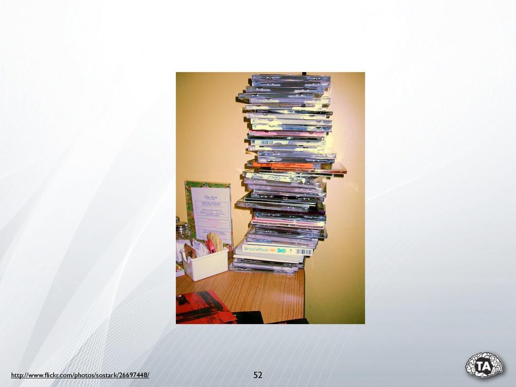 52 http://www.flickr.com/photos/sostark/26697448/