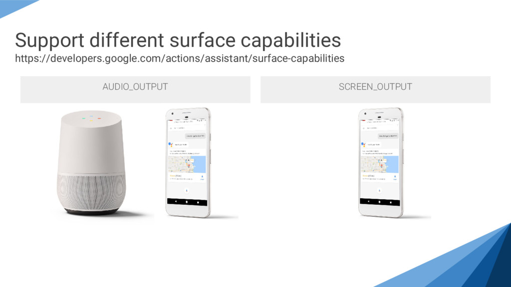 Support different surface capabilities https://...
