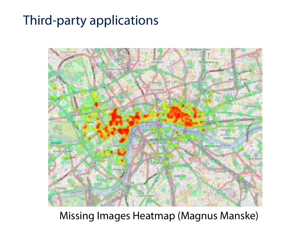Third-party applications Missing Images Heatmap...
