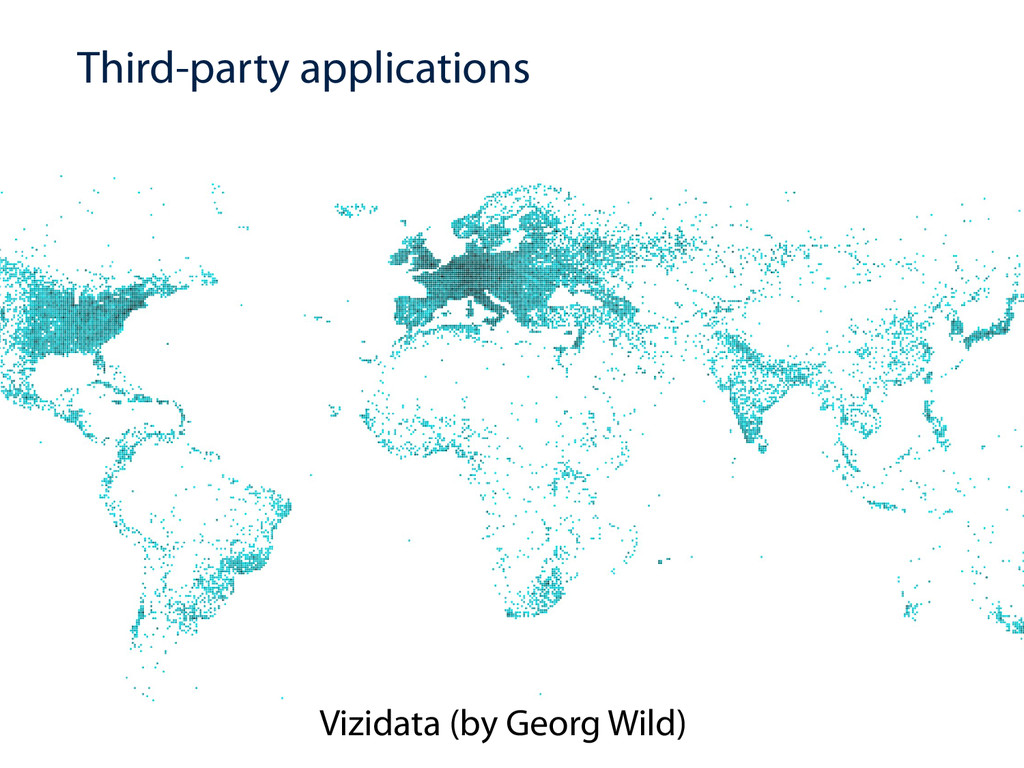 Third-party applications Vizidata (by Georg Wil...