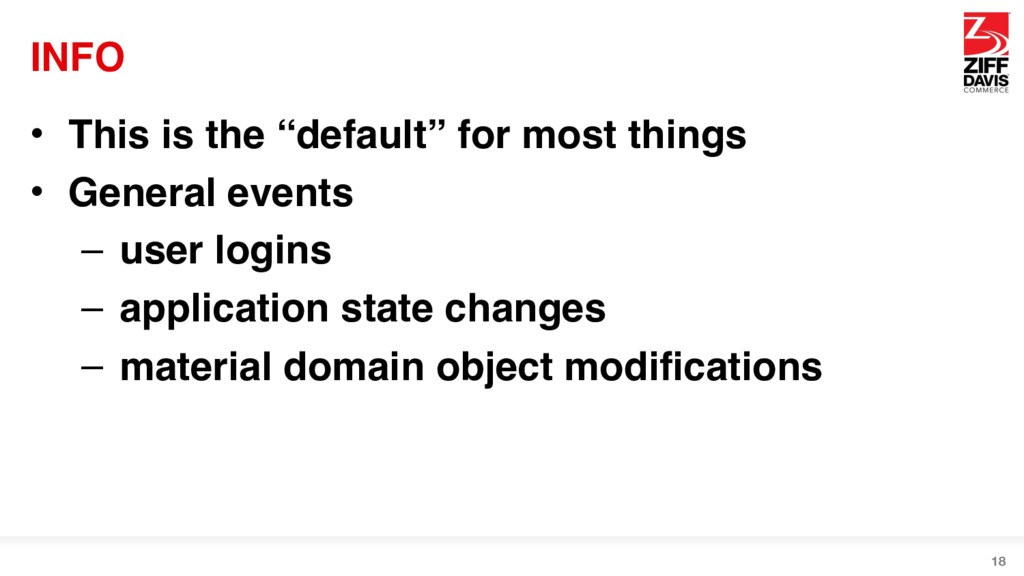 """INFO • This is the """"default"""" for most things • ..."""