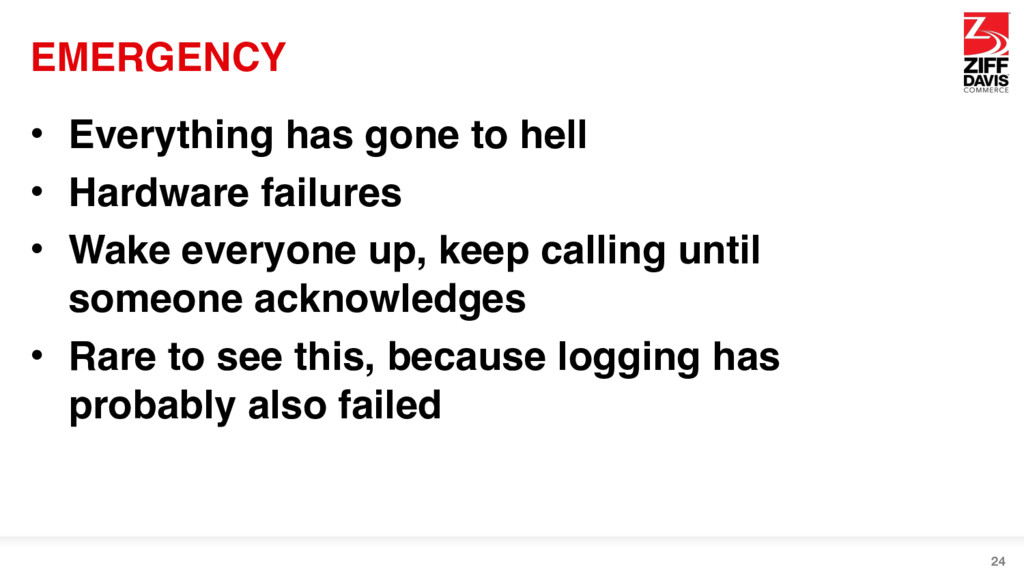 EMERGENCY • Everything has gone to hell • Hardw...