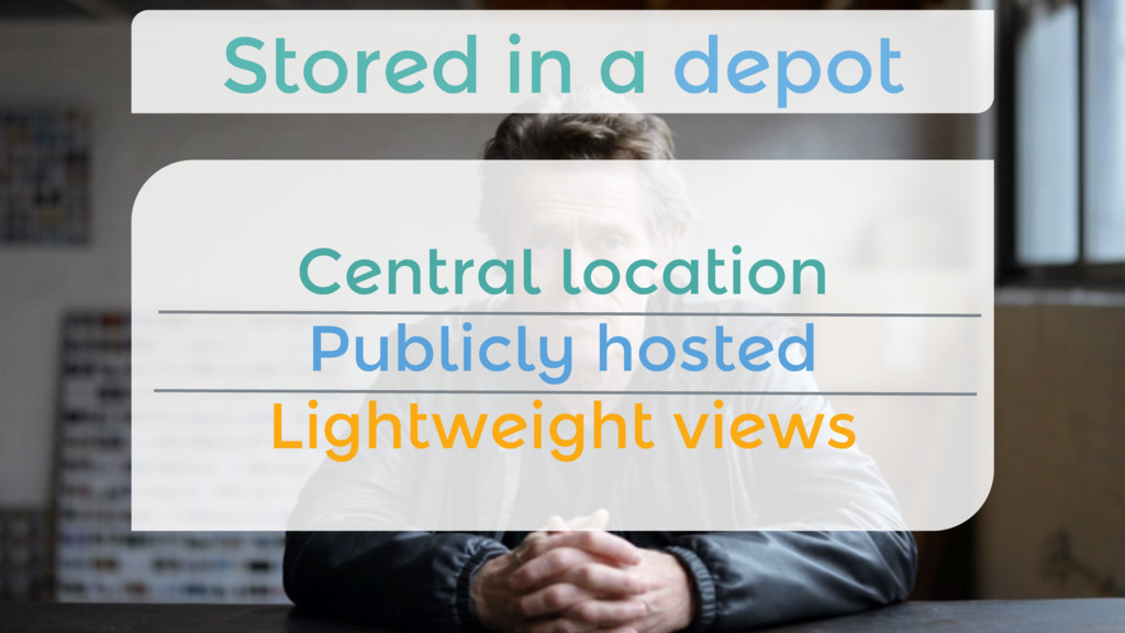Central location Publicly hosted Lightweight ...