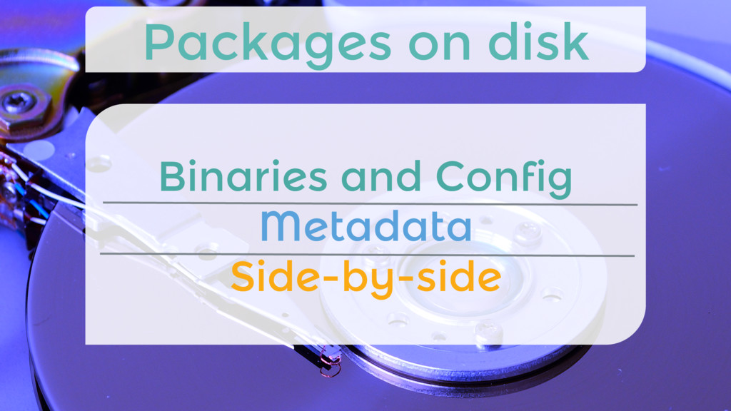 Binaries and Config Metadata Side-by-side Pa...