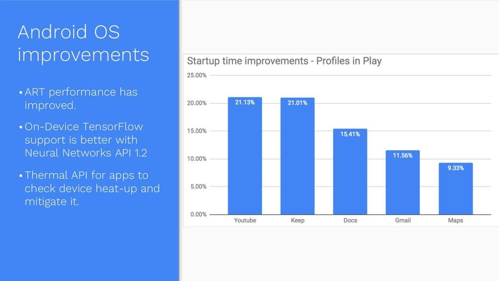 Android OS improvements § ART performance has i...