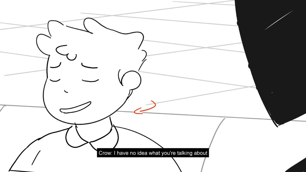 Scene 28 Panel 3 Dialog Crow: Well! That's-that...