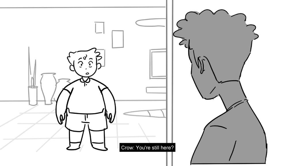 Scene 6 Panel 4 Dialog Crane: Uh yeah Crows Con...