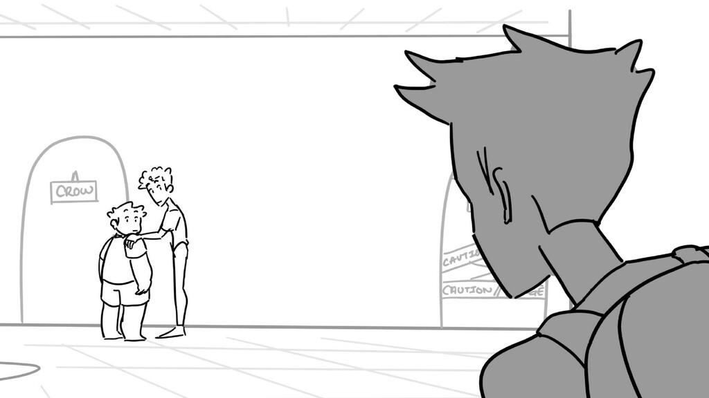 Scene 16 Panel 3 Dialog Crane: What!? Crows Con...